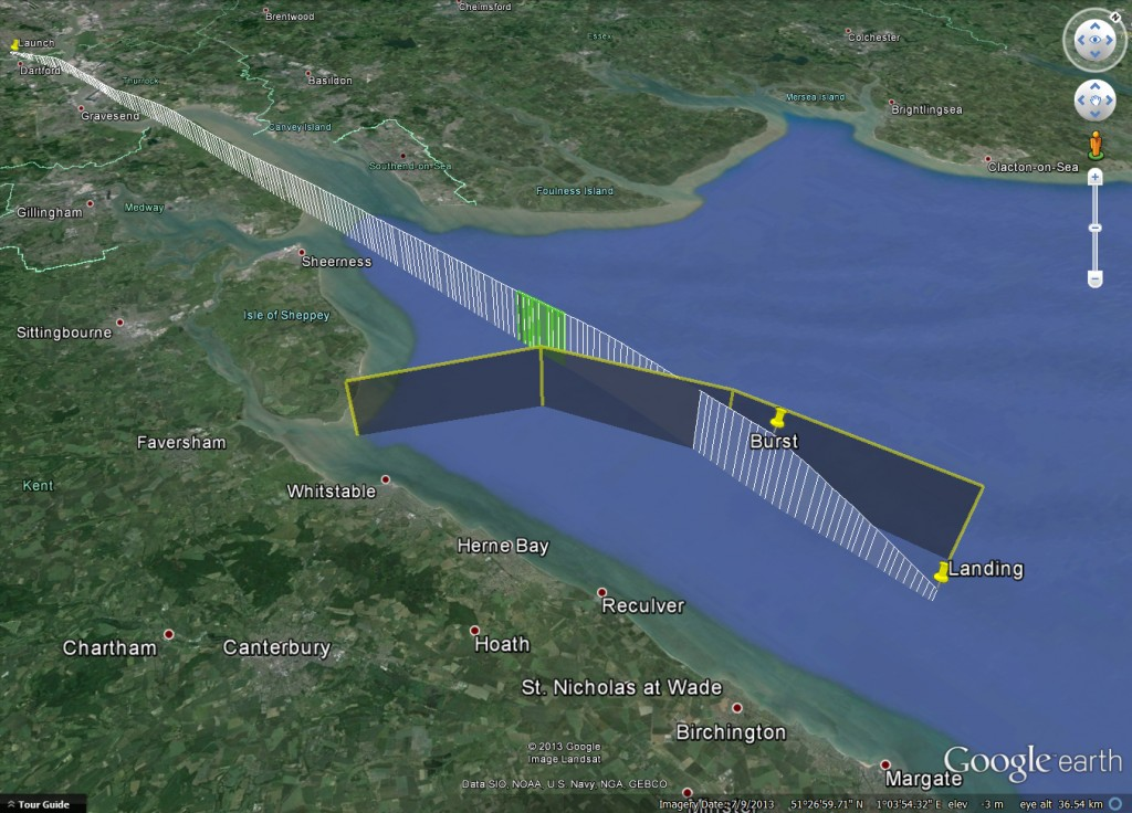 VAYU-1 on Google Earth
