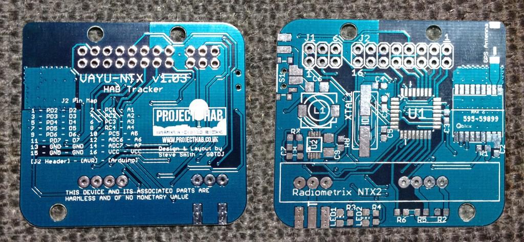 VAYU-NTX v1.03 PCB Top & Bottom